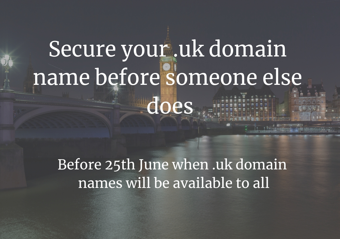 register .uk domain name before june 25th