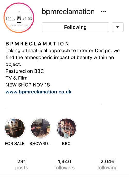 bpm reclamation consistent branding